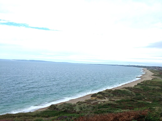 Hengistbury Head view in Bournemouth