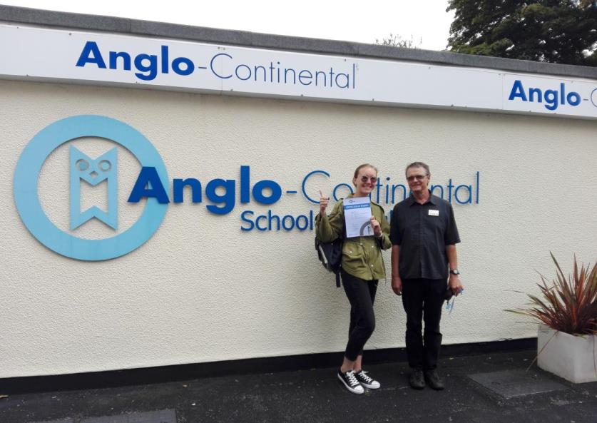 Anglo-Continental Bournemouth one of the best schools in the UK