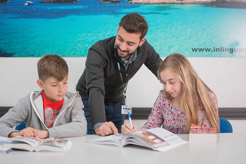 Родитель и ребенок – Parent & Child Programme в школе inlingua Malta
