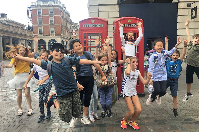 English Summer School in London for Children